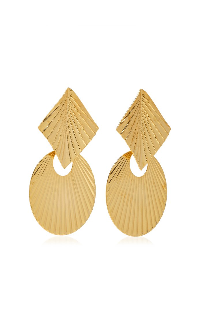 Giovanna Gold-Plated Earrings