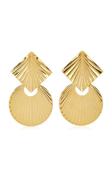 Giovanna Gold-Plated Earrings