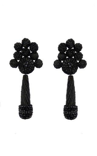 Flowery Prose Iraca Drop Earring