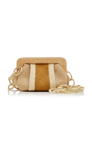 Pursuing Adventure Iraca Palm Clutch