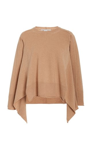Soft Draped Cashmere-Blend Jumper