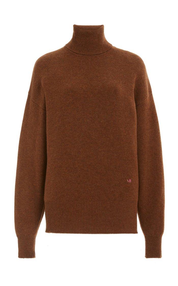 Oversized Cashmere-Blend Turtleneck Sweater