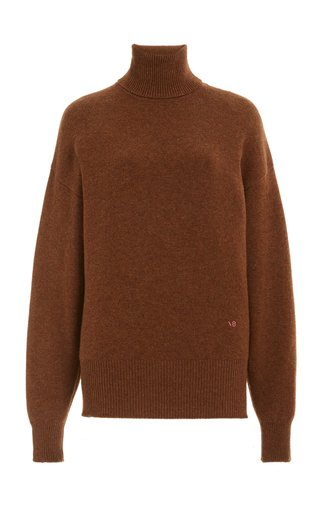 Oversized Cashmere-Blend Turtleneck Sweater