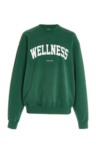 Wellness Ivy Cotton Jersey Sweatshirt
