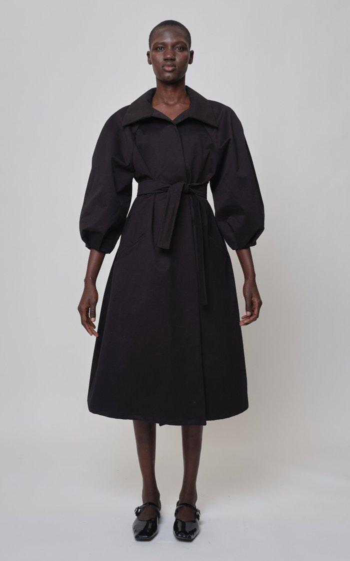Dorotha Cotton Trench Coat