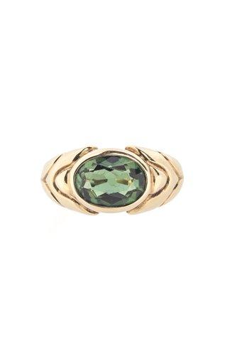 Bulgari Yellow Gold & Tourmaline Ring