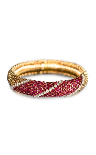 Van Cleef & Arpels Ruby Pelouse Bracelet