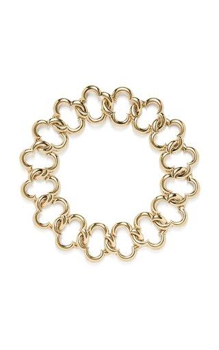 Van Cleef & Arpels Yellow Gold Clover Necklace