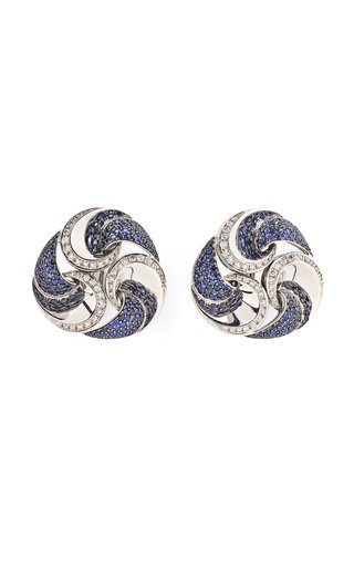 Marina B Sapphire & Diamond Vertigo Earrings