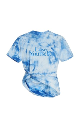 Lose Yourself Tie-Dyed Cotton Jersey T-Shirt