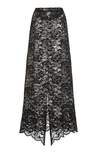 Stretch Lace Maxi Skirt