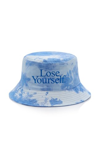 Lose Yourself Tie-Dyed Cotton Bucket Hat