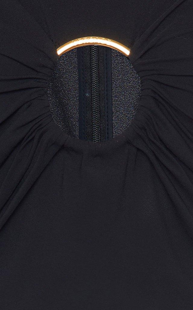 Cutout-Detailed Jersey Bodysuit