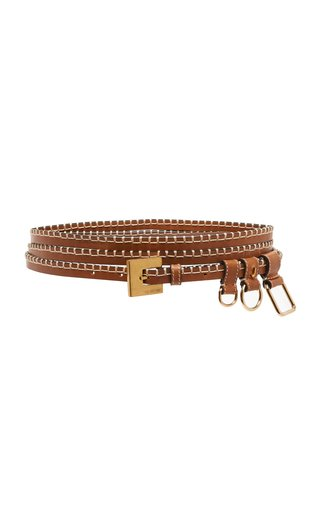 La Moisson Wrap-Around Leather Belt