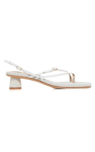 Les Basgia Leather Sandals