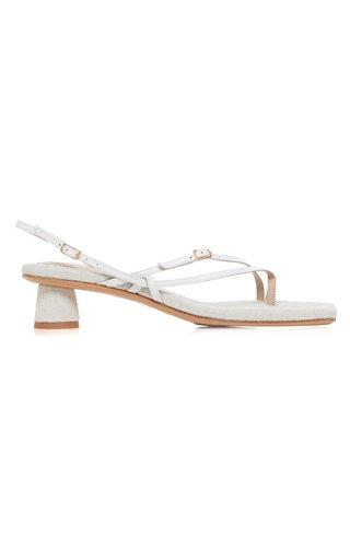 Les Basgia Leather Sandals