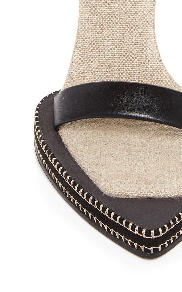 Les Novio Leather Sandals