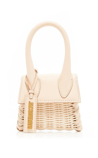 Le Chiquito Wicker and Leather Bag