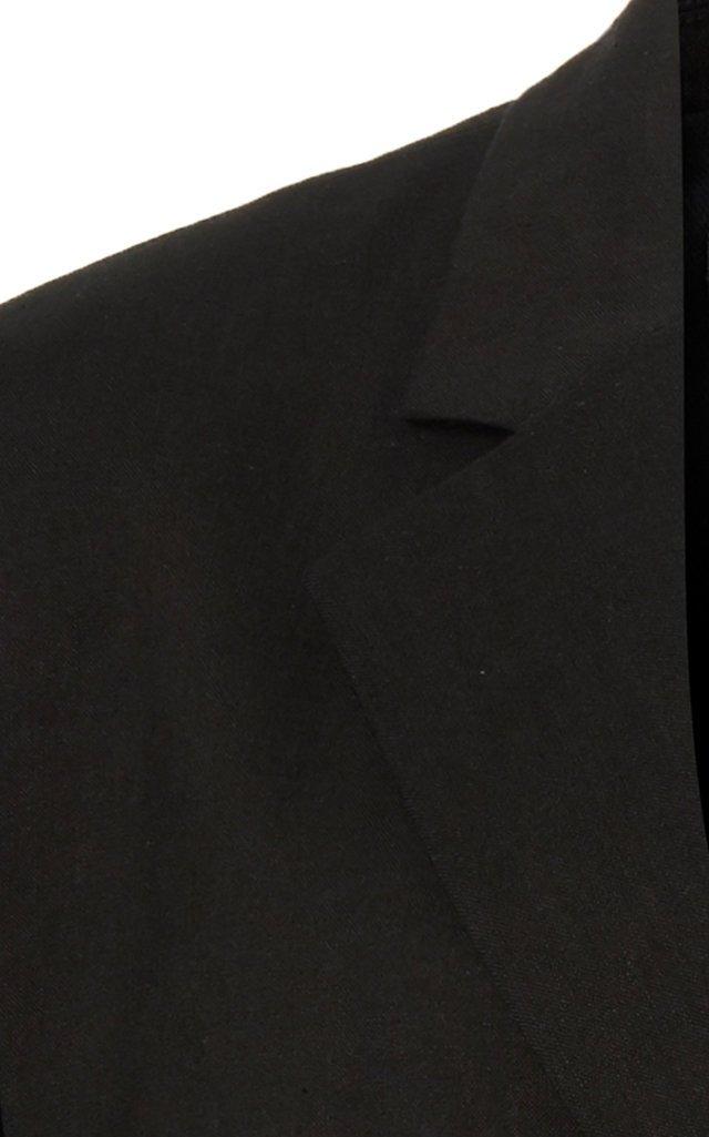D'Homme Oversized Hemp-Blend Blazer