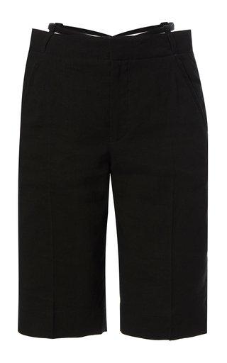 Gardian Hemp-Blend Knee-Length Shorts