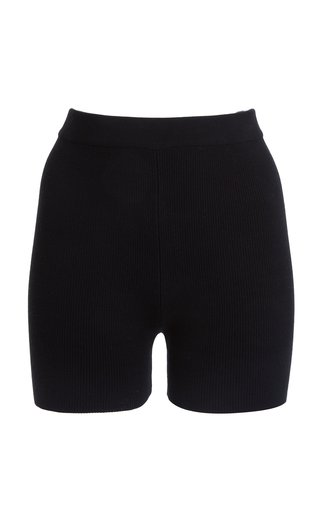 Arancia Ribbed-Knit Shorts