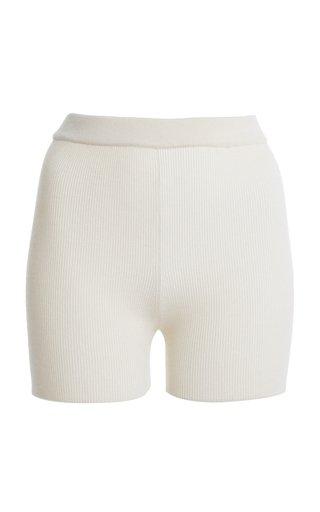 Arancia Ribbed-Knit Shorts