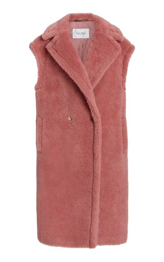 Gettata Oversized Alpaca-Blend Vest