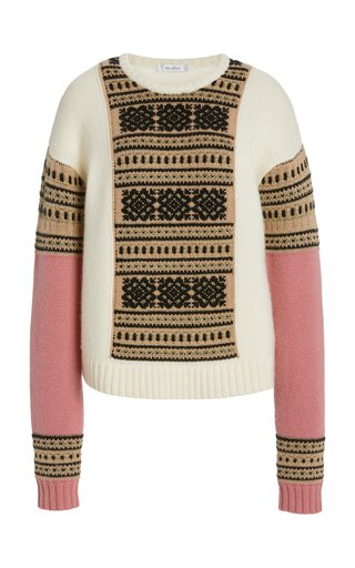 Liana Wool and Cashmere-Blend Sweater