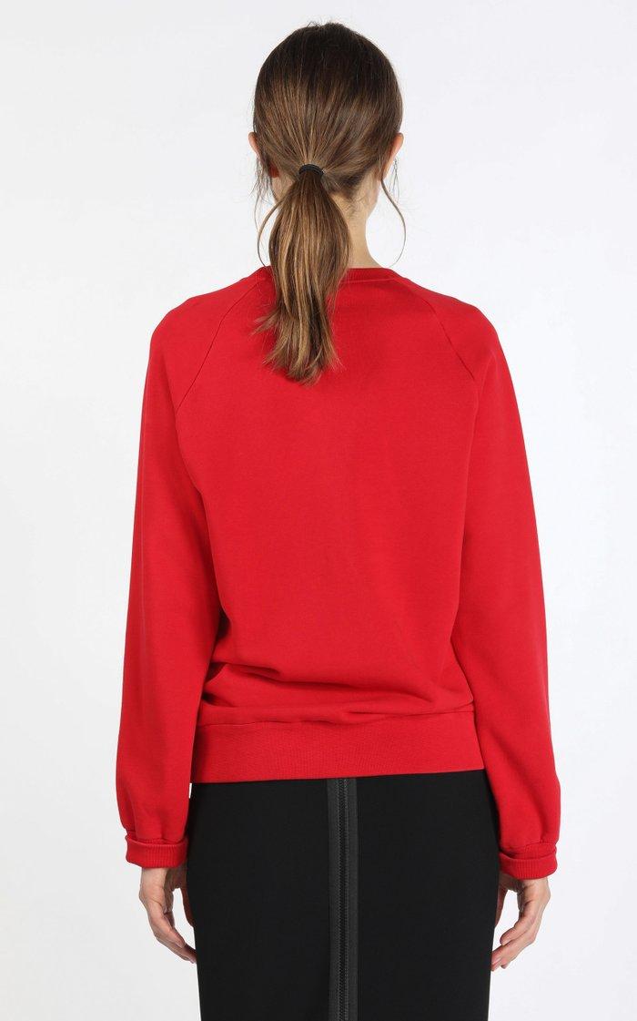 Logo-Print Cotton Sweatshirt