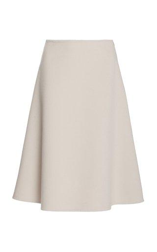 Cashgora A-Line Midi Skirt