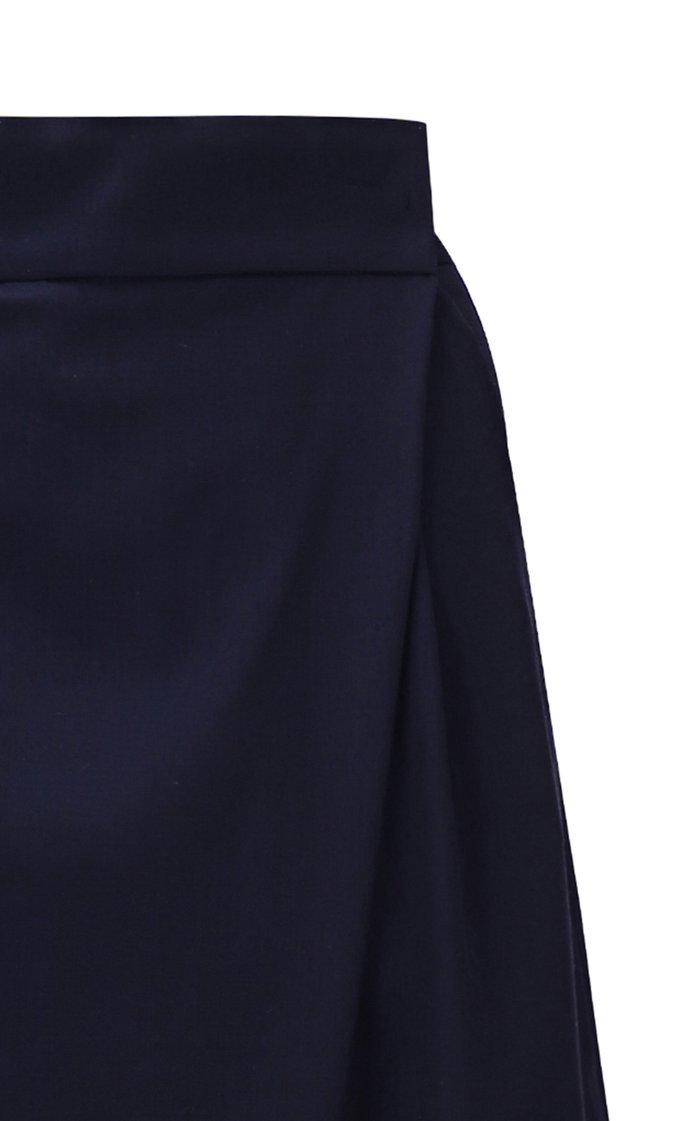 Wrap-Effect Long Shorts