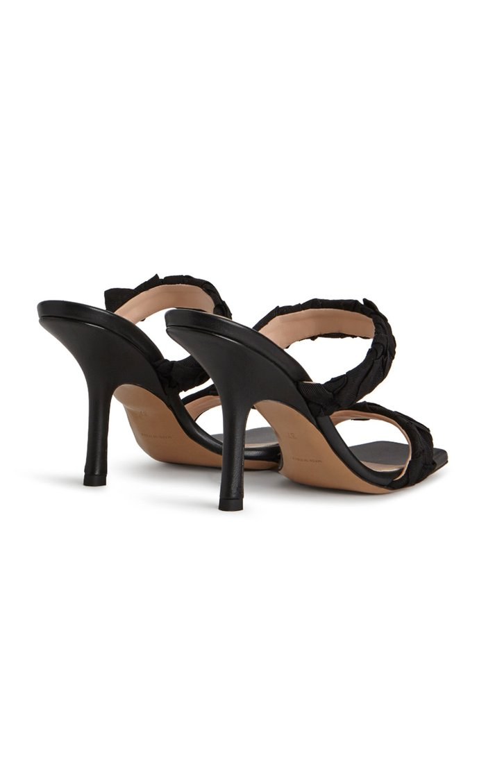 Grosgrain Leather Sandals