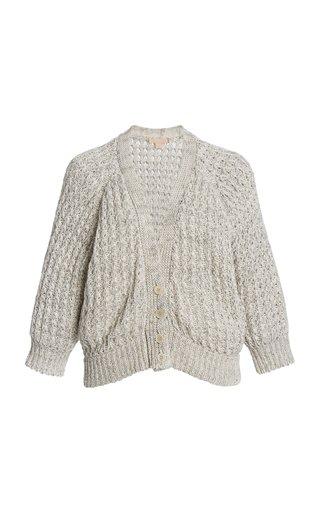Sharon Linen-Cotton Knit Top