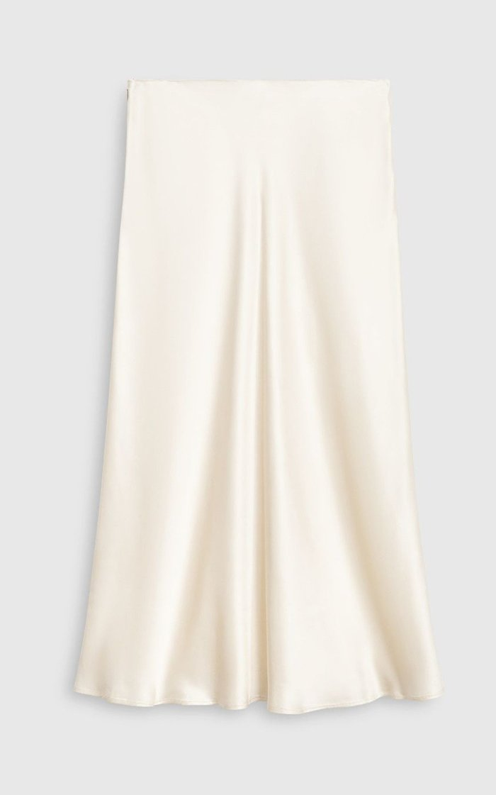 Smilla Satin Midi Skirt