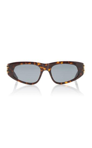 Dynasty Cat-Eye Acetate Sunglasses