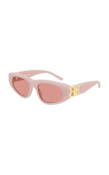 Dynasty Cat-Eye Tortoiseshell Sunglasses