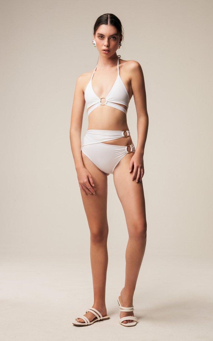 Cut-Out Bikini Bottom