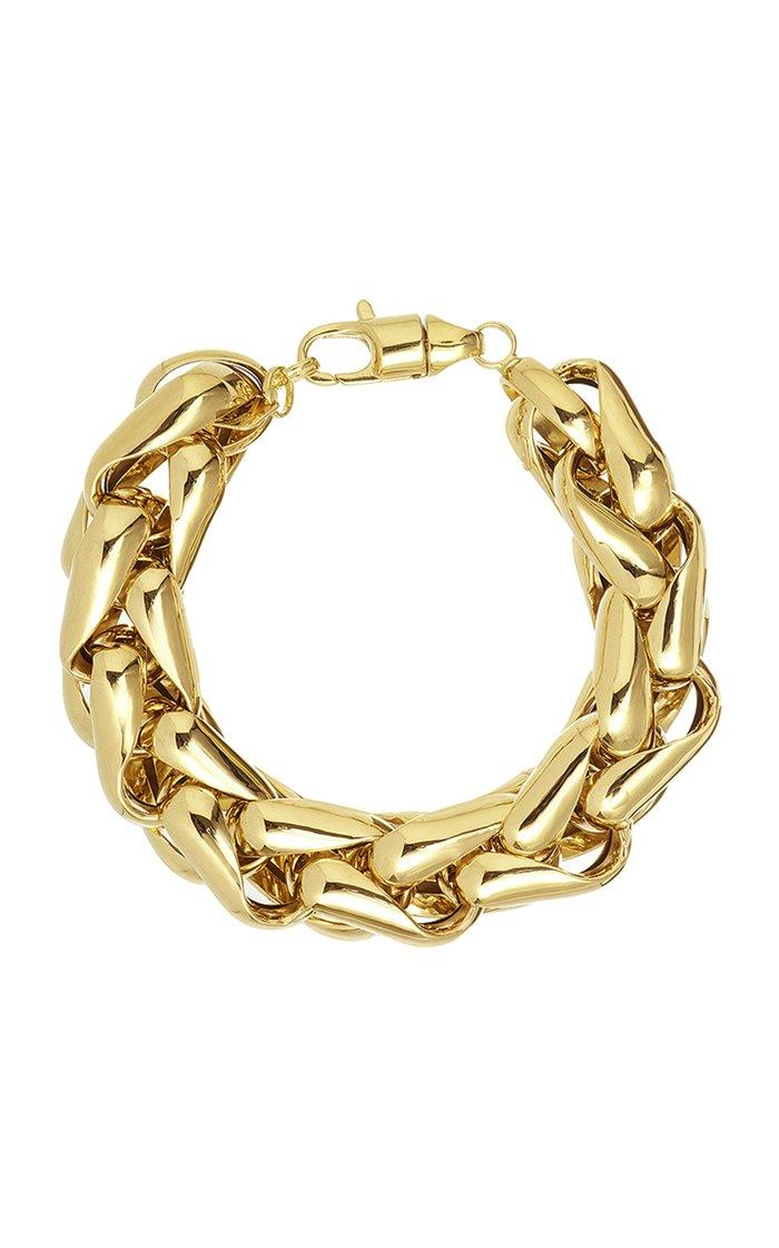 14K Yellow Gold Lucky Gold Links Bracelet