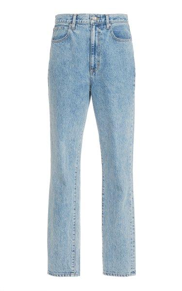 Beatnik Rigid High-Rise Slim-Leg Jeans
