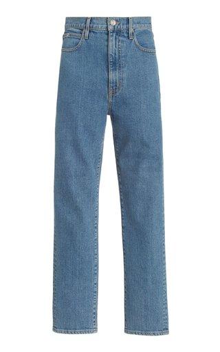 Beatnik Ankle Stretch High-Rise Slim-Leg Jeans