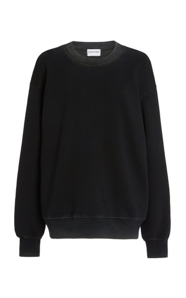 The Brooklyn Oversized Washed Cotton Sweatshirt
