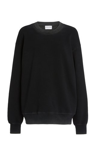 The Brooklyn Oversized Washed Cotton Sweatshirt