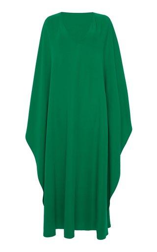 Oversized Silk Dress