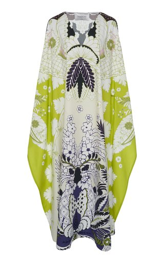 Printed Oversized Midi Dress