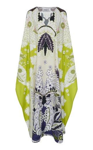Printed Oversized Midi Dress