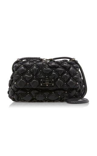 Valentino Garavani SpikeMe Medium Studded Quilted Leather Shoulder Bag