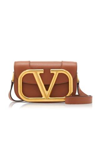 Valentino Garavani Supervee Leather Shoulder Bag