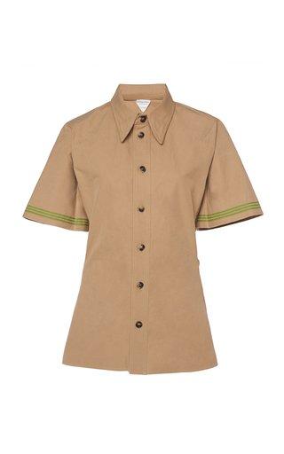 Heavy Cotton Button-Down Shirt