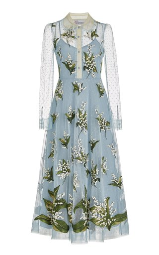 May Lily Floral Tulle Dress