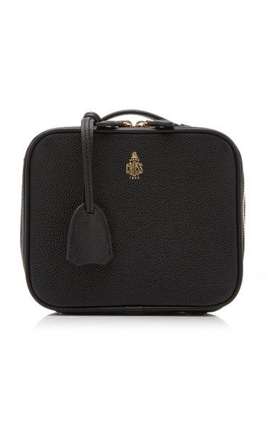 Mini Madison Leather Top Handle Bag